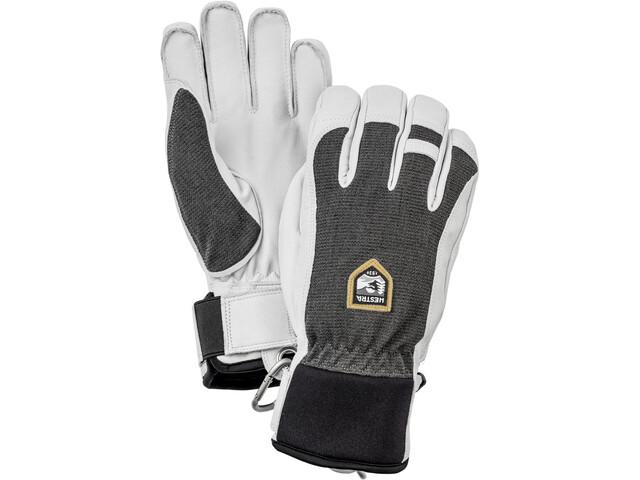 Hestra Army Leather Patrol Handschoenen, wit/grijs